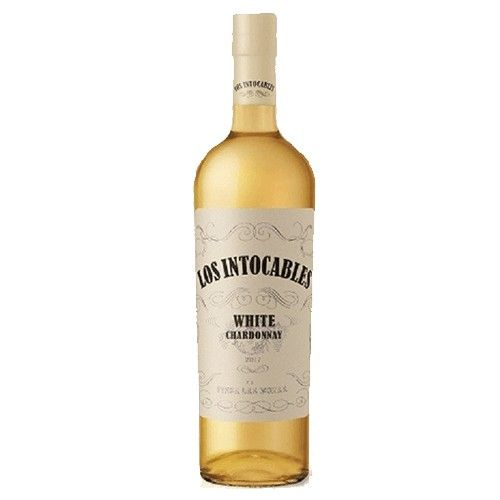 Los Intocables White Chardonnay