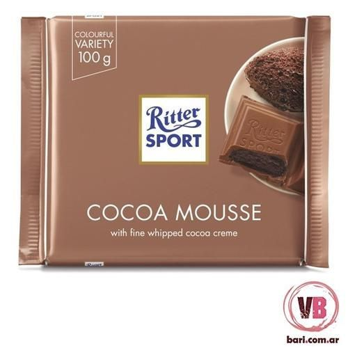 Tableta Chocolate Ritter Cocoa Moussers