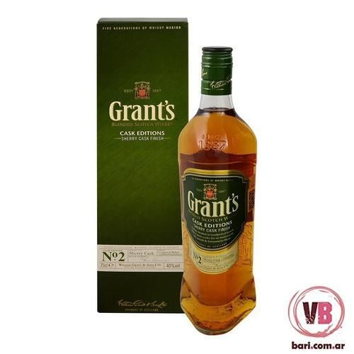 Estuche Whisky Grants Sherry Cask Finish 40%